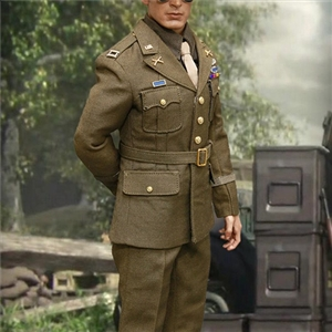 Alert Line : 1/6 WWII U.S.Army Officer Uniform Suit A Section