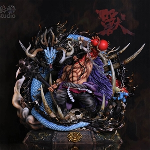 BP Studio Yonko Kaido of the Beasts Resin Statue