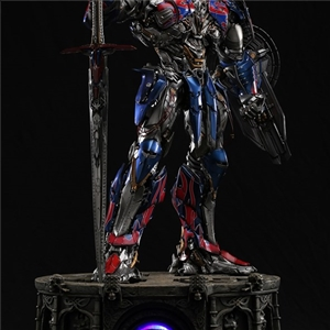 DAMTOYS CLASSIC SERIES: 29-INCH TRANSFORMERS :THE LAST KNIGHT OPTIMUS PRIME LIGHT-UP STATUE