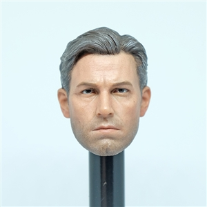 1/6 Scale BVS Batman Ben Affleck Head Sculpt For Hot Toys