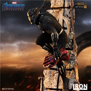 Iron Studios 1/10 art scale end game Black Panther statue
