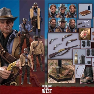 LIMTOYS LIM008 OUTLAWS OF THE WEST THE GUNSLINGER