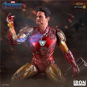 Iron Studios I am Iron Man BDS Art Scale 1/10 Avengers: Endgame