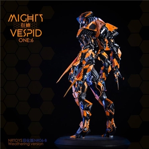 NRtoys NR06A 1/6 Biochemical Exoskeleton Armor - Mighty vespid Science Fiction Hand GK Statue Model Standard editio